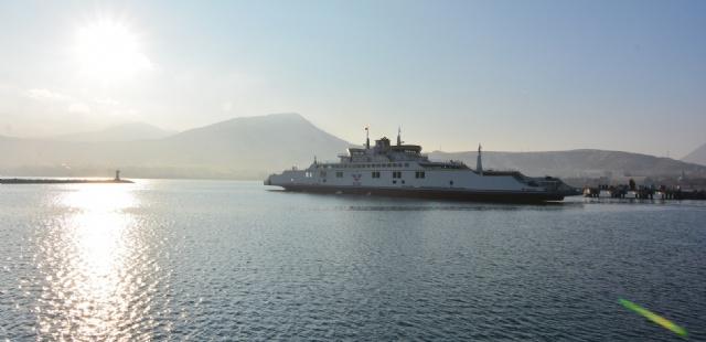 Türkiye'nin en büyük feribotu Van Gölü'nde