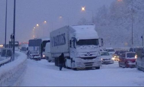 Marmara'da sadece İstanbul'da kar yağışı yok