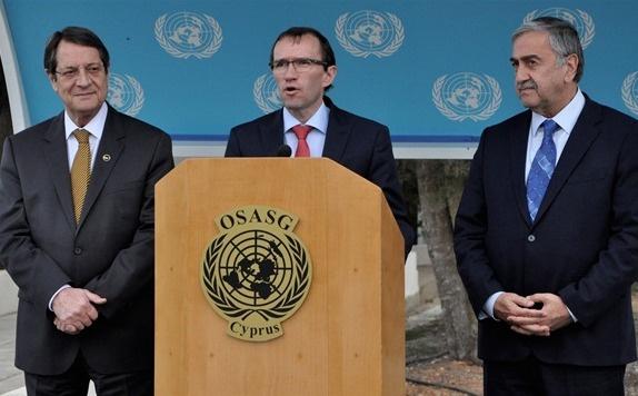 Kıbrıs müzakerelerine ara verildi