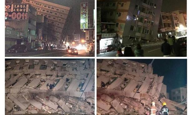 Tayvan'daki depremde 5 kişi öldü