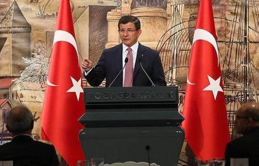 Davutoğlu medya yöneticileriyle görüştü