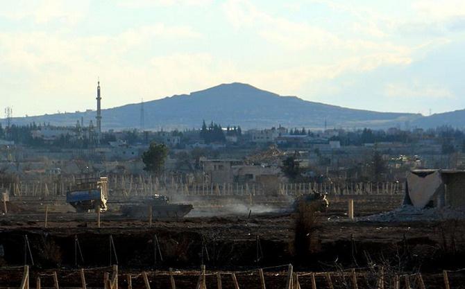 Şam'da Deraya'ya operasyon hazırlığı