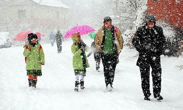 Kar tatili yapılan şehir sayısı 6'ya yükseldi