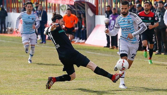 Amed Sportif ile Fenerbahçe maçı 3-3 berabere bitti