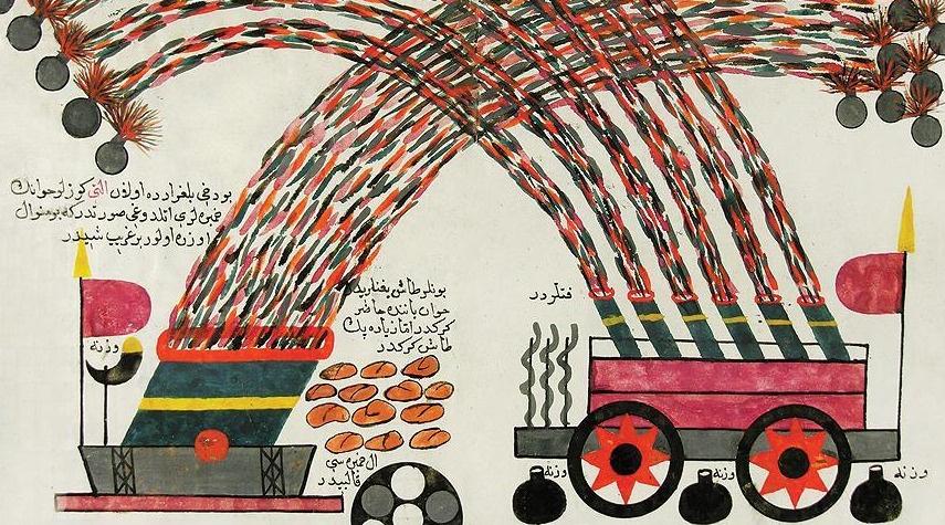 Roketi Osmanlı icat etmiş