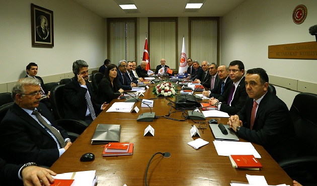 Anayasa Mutabakat Komisyonu toplandı