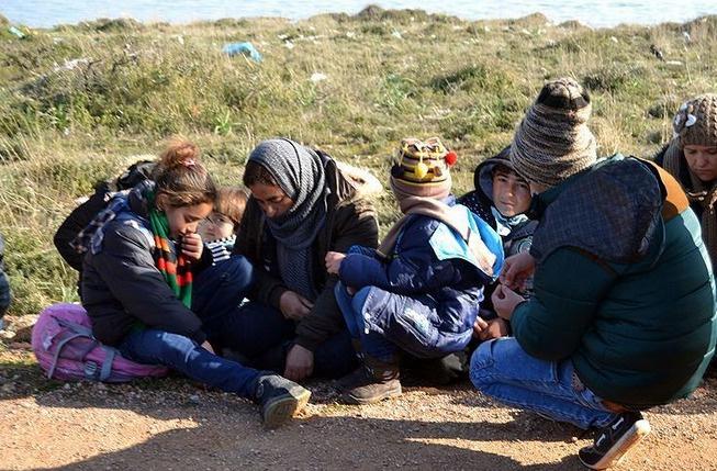 Suriyeliler, Yunanistan diye Balıkesir'e bırakıldı