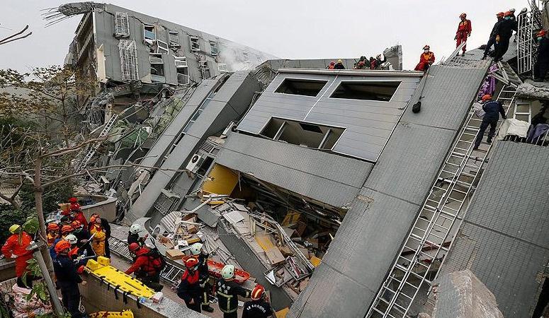 Tayvan depreminde ölü sayısı 43'e çıktı