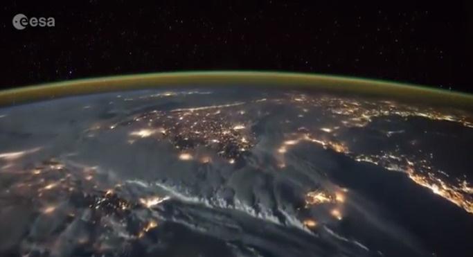 Türkiye'de fırtınalı bir gecenin uydu görüntüleri | VIDEO