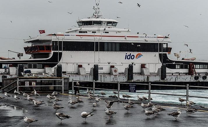 Marmara'da fırtına, İDO ve BUDO seferleri iptal