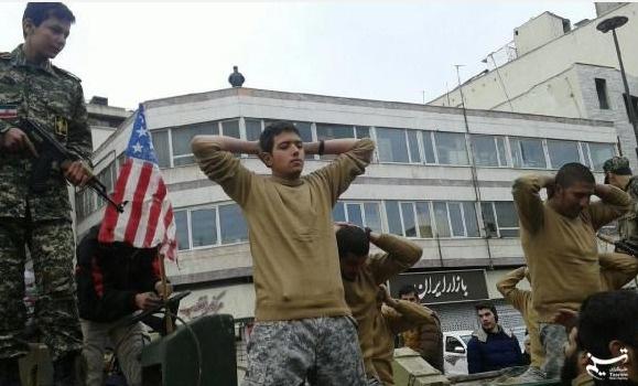 İran'da 'esirli' devrim kutlamaları
