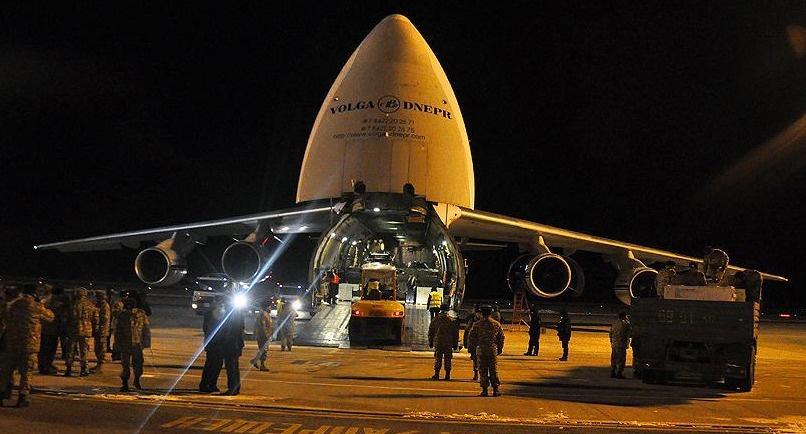 Rusya'dan Kırgızistan'a askeri yardım