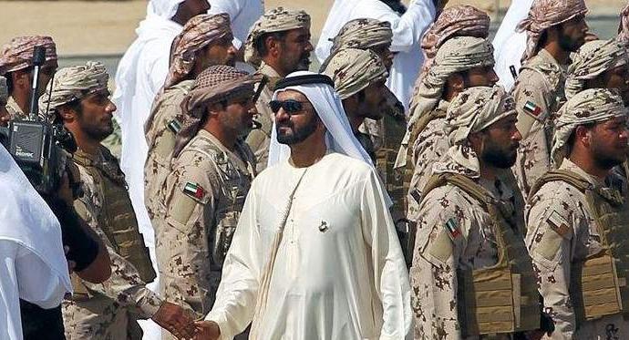 Birleşik Arap Emirlikleri Suriye'ye asker gönderiyor