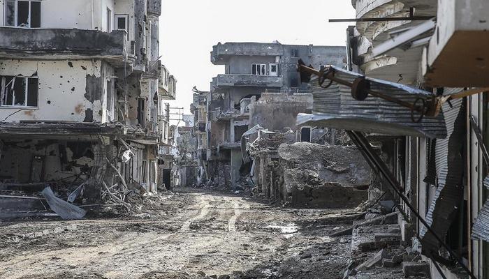Cizre'den Halep'i andıran görüntüler | FOTO