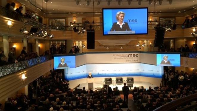 52'nci Münih Güvenlik Konferansı başladı