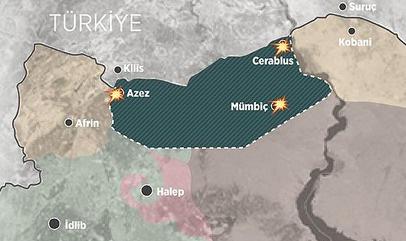 ÖSO, Azez'e saldıran PYD'yi püskürttü