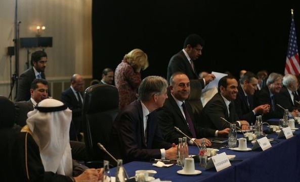 Suriye destek grubu Cenevre'de toplandı