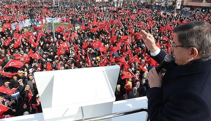 Erzincan'da konuşan Davutoğlu: Şark meselesi bitmiştir