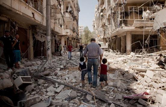 4,5 milyon Suriyeli kendi ülkesinde mülteci