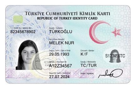 Çipli kimlik kartları görücüye çıktı