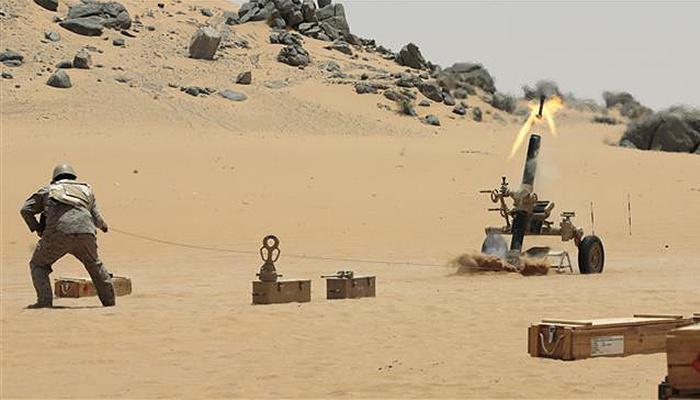 Arabistan çöllerinde en büyük tatbikat