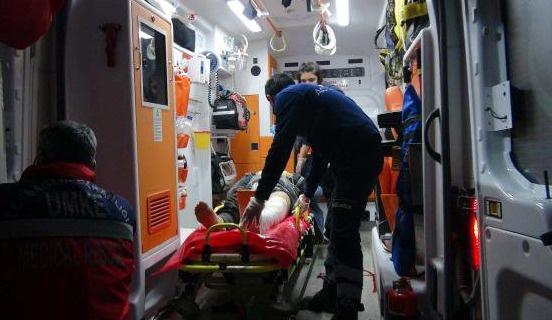 Rus bombalarından yaralananlar Türkiye'de