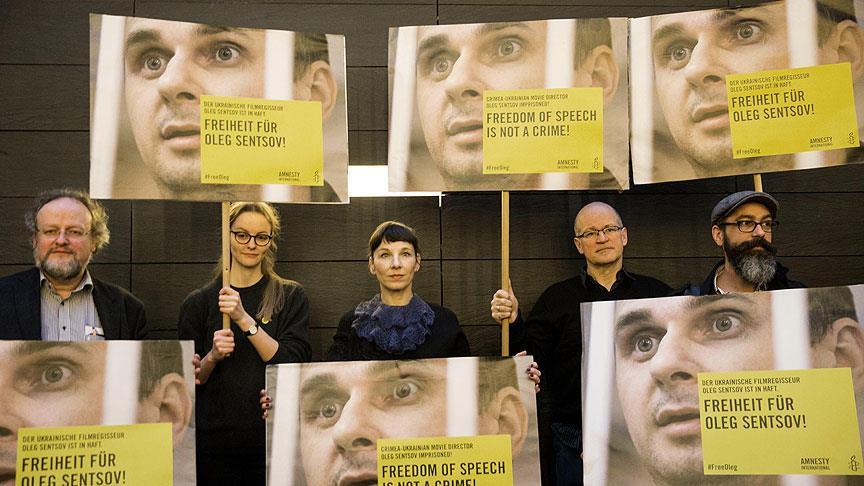 Berlin Film Festivali'nde Rusya protesto edildi