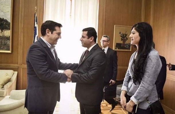 HDP Eşbaşkanı Demirtaş Yunanistan'da