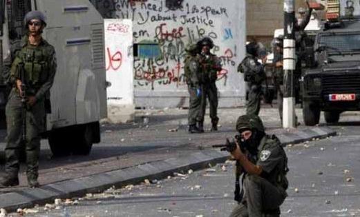 İsrail Batı Şeria'da 20 Filistinli yaraladı