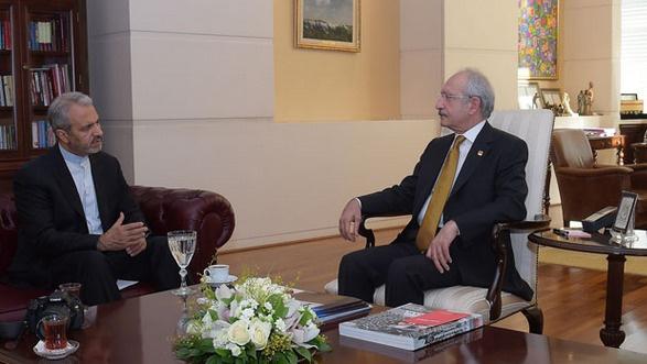 İran Büyükelçisi CHP Genel Merkezi'nde