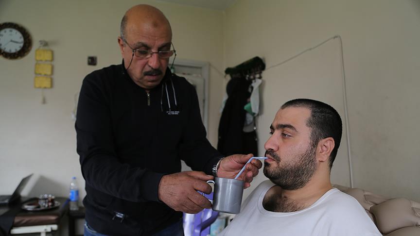 Mülteci babanın hüzünlü hikayesi
