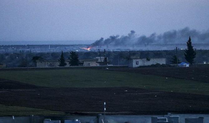 Rusya Azez'de hastane vurdu