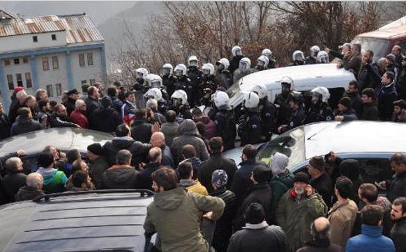 Artvin Cerattepe'de maden ocağı gerilimi | VIDEO