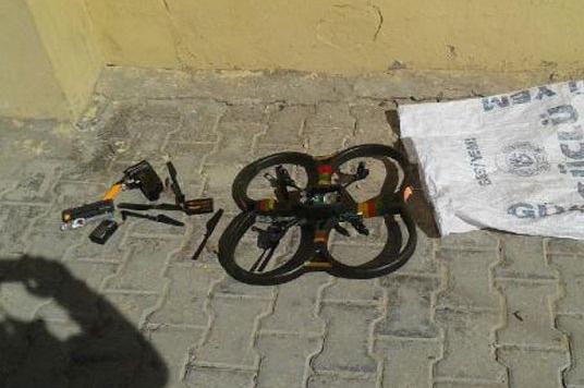 PKK'nın insansız hava aracı ele geçirildi