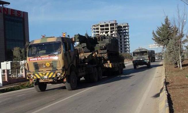 PYD'yi bombalayan topların yeri değiştirildi