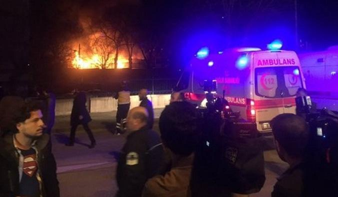 Ankara'da bombalı saldırı: 28 ölü, 61 yaralı