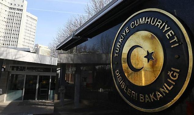 Türkiye'den ABD donanmasına tepki