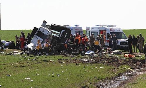 Diyarbakır'da patlama : 6 Şehit, 1 yaralı