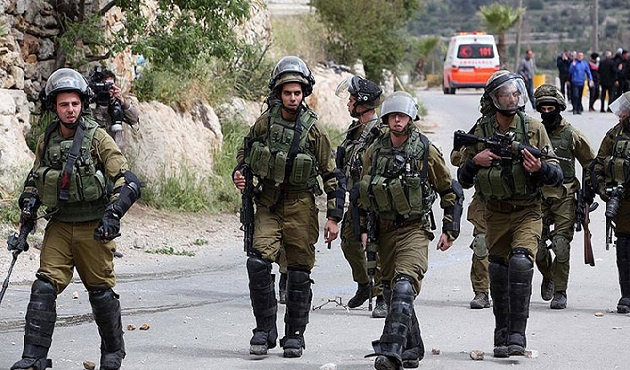 İsrail bugün de Filistinlileri saldırdı