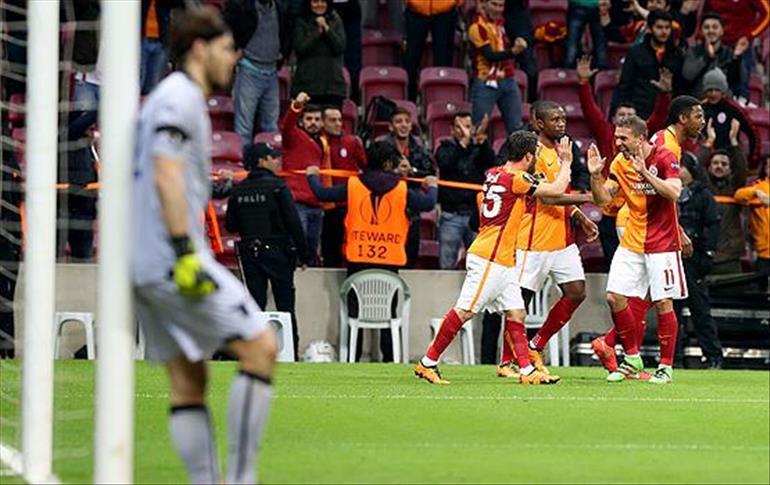 Galatasaray-Lazio maçı berabere bitti