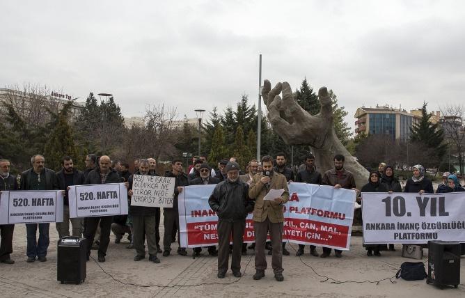 STK'lardan Ankara saldırısına protesto
