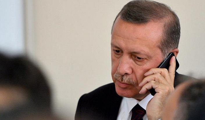 Erdoğan'dan Arınç'a başsağlığı telefonu