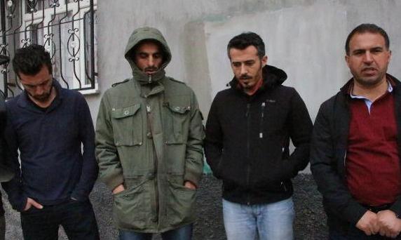 Kaçırılan gazeteciler serbest bırakıldı