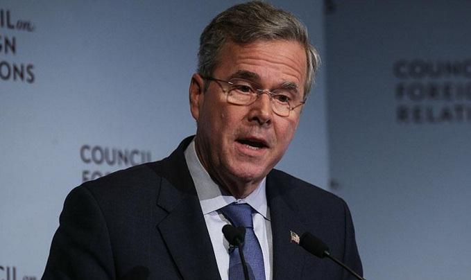 Bush yarıştan çekildi