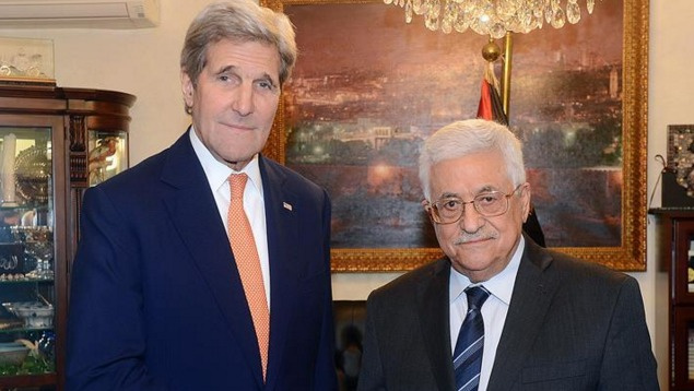 Kerry ile Abbas Ürdün'de görüştü