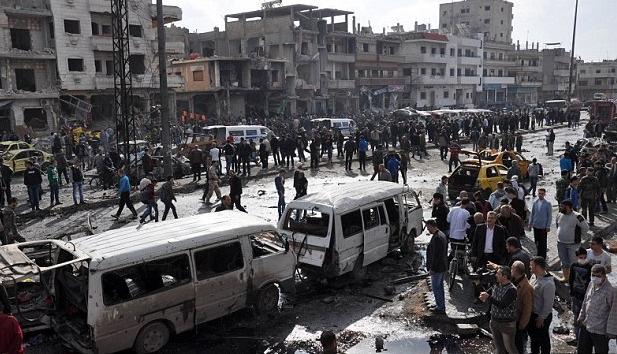Şam ve Humus saldırılarını IŞİD üstlendi
