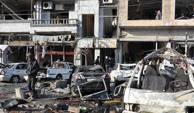 Şam ve Humus'ta saldırılar: 100'den fazla ölü var
