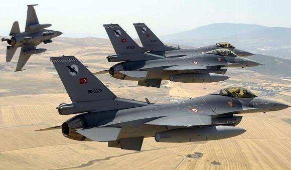 PKK kampları 6 savaş jetiyle vuruldu
