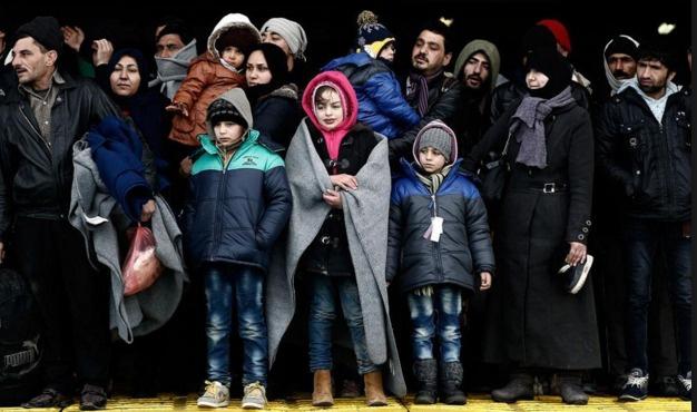 Binlerce Afgan Yunanistan'da mahsur kaldı