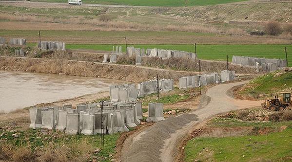 PKK/YPG sızıntısına karşı duvarlı önlem